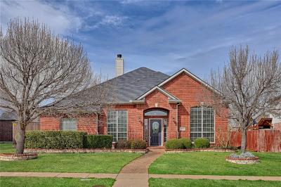 Allen Single Family Home For Sale: 909 Muir Woods Drive