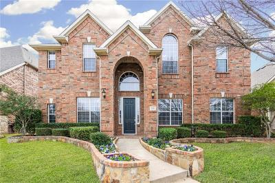 Lewisville Single Family Home Active Contingent: 2316 Sir Belin Drive