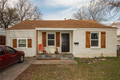 Fort Worth Single Family Home For Sale: 2800 W Bewick Street