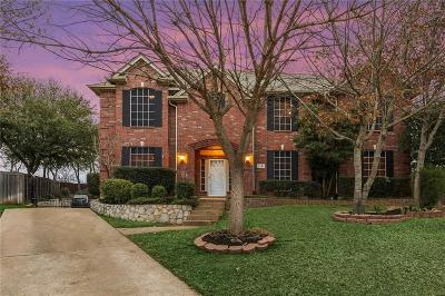 Grapevine Single Family Home Active Option Contract: 2721 Thorn Lane