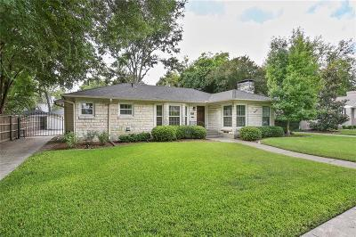 Dallas Single Family Home For Sale: 6414 Anita Street