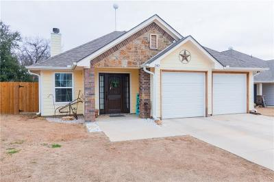 Parker County Single Family Home Active Option Contract: 240 Lovers Path Drive