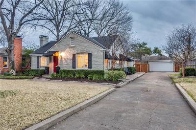 Dallas County Single Family Home For Sale: 5600 W Amherst Avenue