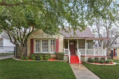 Dallas Single Family Home For Sale: 2419 Marvin Avenue