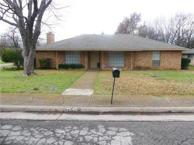 Desoto Residential Lease For Lease: 545 Newcastle Drive