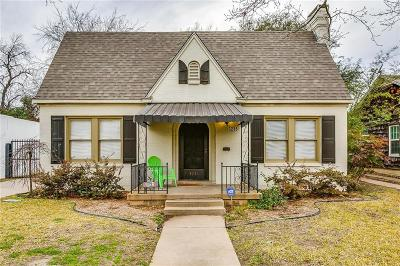 Fort Worth Single Family Home For Sale: 3236 Waits Avenue