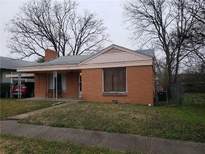 Dallas County Single Family Home For Sale: 1231 Bessie Street