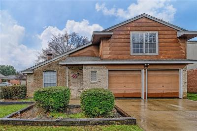 Mansfield Single Family Home For Sale: 720 Nightingale Circle