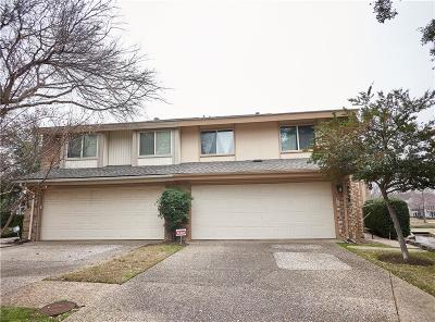 Carrollton Townhouse For Sale: 2938 Woodcroft Circle