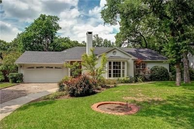Fort Worth Single Family Home For Sale: 3712 Cresthaven Terrace