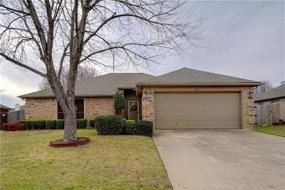 Saginaw Single Family Home Active Contingent: 817 Amber Drive