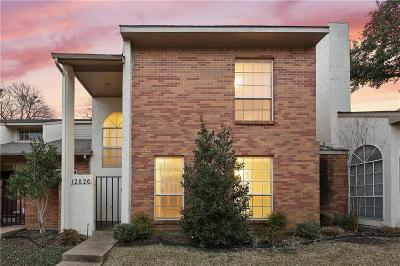 Dallas Townhouse For Sale: 12826 Burninglog Lane