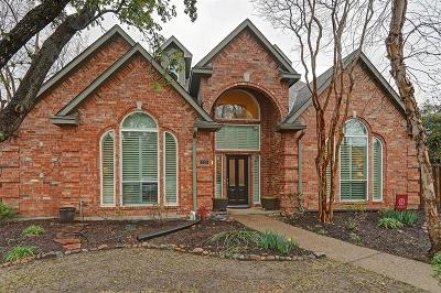 Coppell Single Family Home Active Option Contract: 318 Pecan Hollow Drive