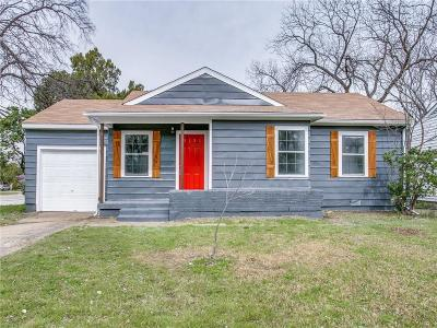Arlington Single Family Home Active Option Contract: 1624 Kelly Terrace