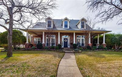 Keller Single Family Home For Sale: 1612 Crestwood Trail