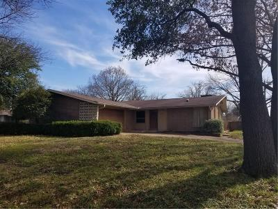 Richardson Single Family Home Active Option Contract: 923 Melrose Drive
