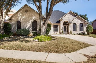 Highland Village Single Family Home For Sale: 408 Canberra Court