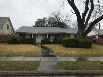Garland Single Family Home For Sale: 4009 Hillsdale Lane