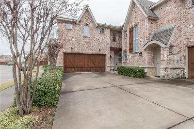 Coppell Townhouse Active Option Contract: 1214 Bethel School Court