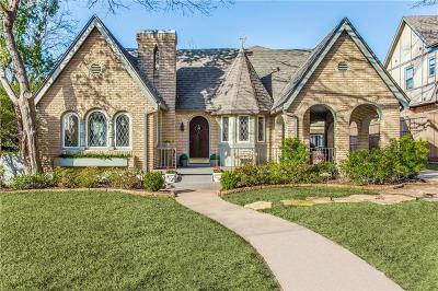 Dallas Single Family Home For Sale: 5219 Morningside Avenue
