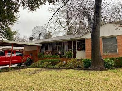 Dallas Single Family Home For Sale: 3135 E Latta Circle