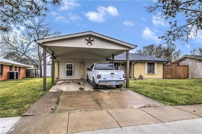 Dallas County Single Family Home For Sale: 3233 Moon Drive
