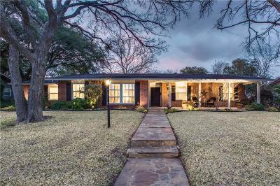 Dallas Single Family Home For Sale: 3977 Cedar Bayou Drive