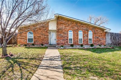 The Colony Single Family Home For Sale: 6521 John Yates Drive