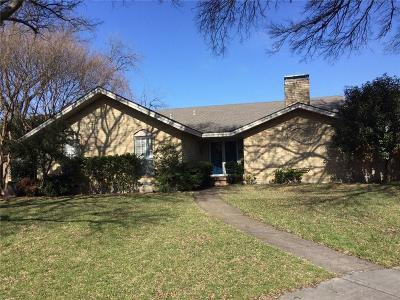 Richardson Single Family Home Active Option Contract: 830 Teakwood Place