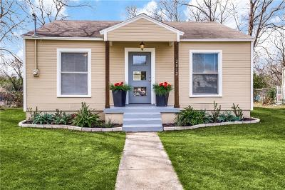 Dallas Single Family Home For Sale: 2812 Canary Drive