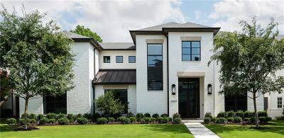 Dallas Single Family Home For Sale: 6823 Northwood Road