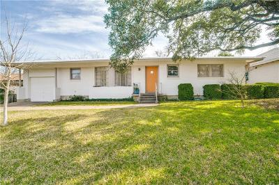 Fort Worth Single Family Home Active Option Contract: 4817 Staples Avenue