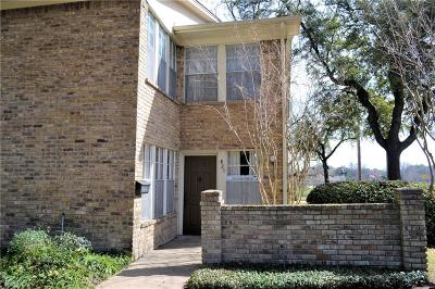 Richardson Townhouse For Sale: 621 Towne House Lane