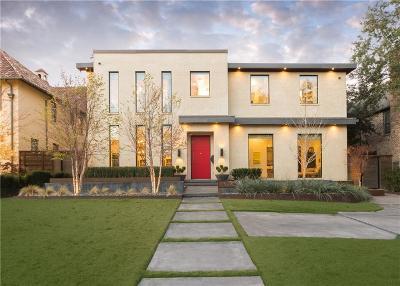Highland Park, University Park Single Family Home For Sale: 3528 Marquette Street