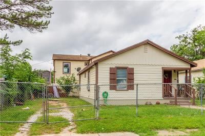 North Fort Worth Multi Family Home Active Contingent: 1203 Harrington Avenue