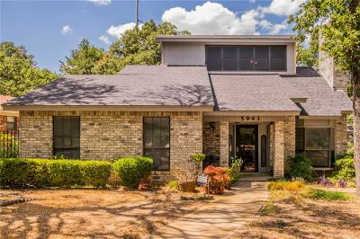Fort Worth Single Family Home For Sale: 5941 Truman Drive