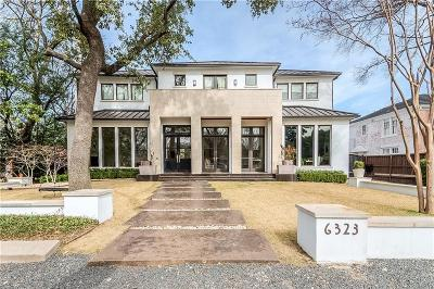Dallas Single Family Home For Sale: 6323 Meadow Road