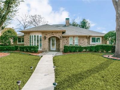 Dallas Single Family Home For Sale: 9916 Acklin Drive