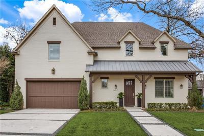 Dallas Single Family Home For Sale: 6211 Revere Place