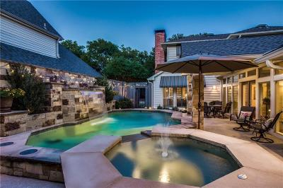 Dallas Single Family Home For Sale: 16005 Chalfont Circle