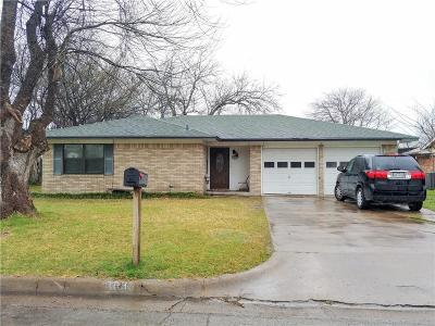 Waxahachie TX Single Family Home For Sale: $134,000