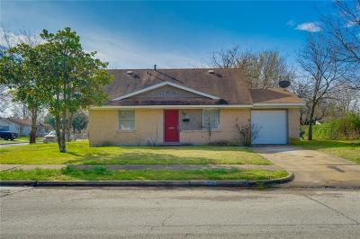 Garland Single Family Home Active Option Contract: 1318 Rosewood Hills Drive