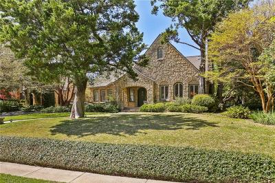 Dallas County Single Family Home For Sale: 4119 Rock Creek Drive