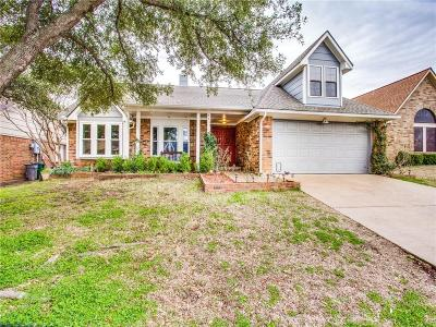 Denton County Single Family Home For Sale: 3411 Bellview Drive