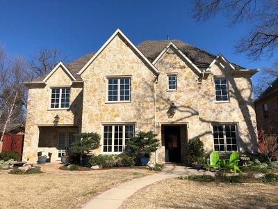 Dallas TX Single Family Home For Sale: $1,369,000