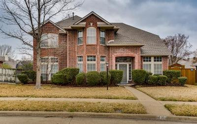 Plano Single Family Home Active Option Contract: 7117 Amethyst Lane