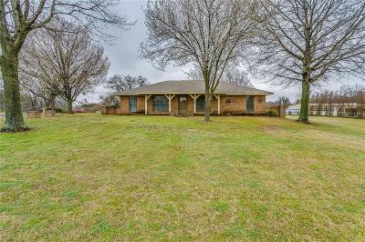 Weatherford Single Family Home For Sale: 110 Oakwood Drive