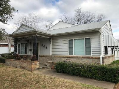 Dallas Single Family Home For Sale: 504 S Gilpin Avenue