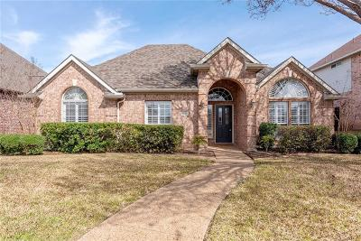 Rockwall Single Family Home Active Option Contract: 1030 Shores Boulevard