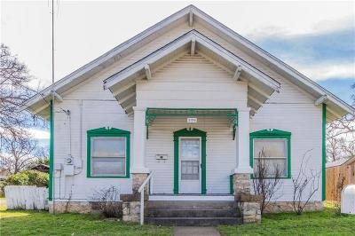 Weatherford Single Family Home Active Contingent: 306 E Lee Avenue